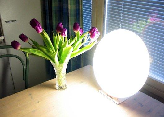 Lampa do fototerapii w depresji sezonowej
