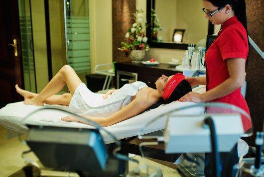 Zabiegi pielęgnacyjne wRoyal Park Hotel & SPA